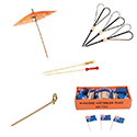 Disposable Skewers & Garnishes
